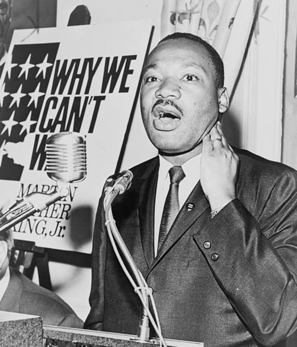 Martin Luther King in 1964.