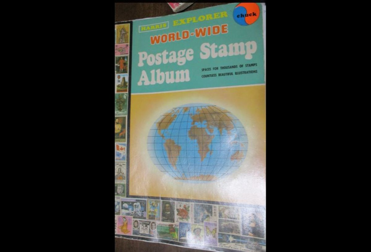 My Stamp Collection Book