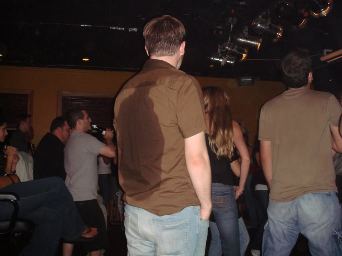 Sweat is a big issue for both men and women in salsa clubs.