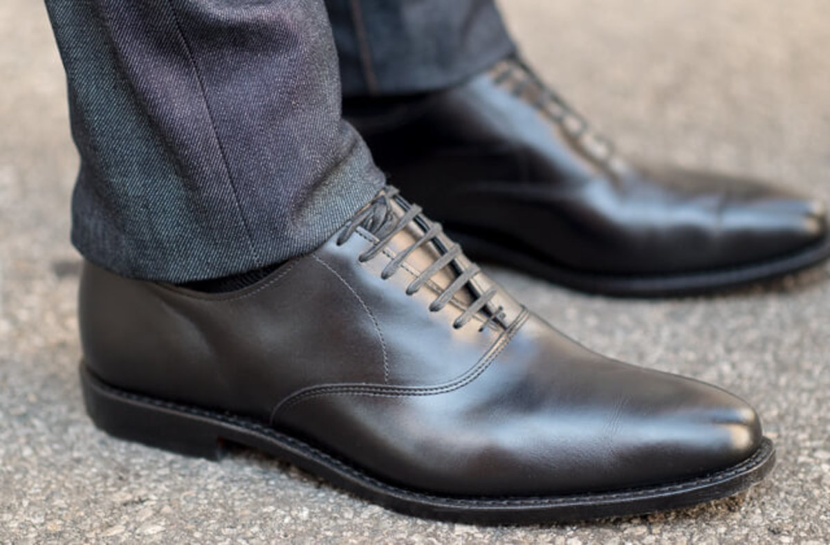 Dress shoes are always classy