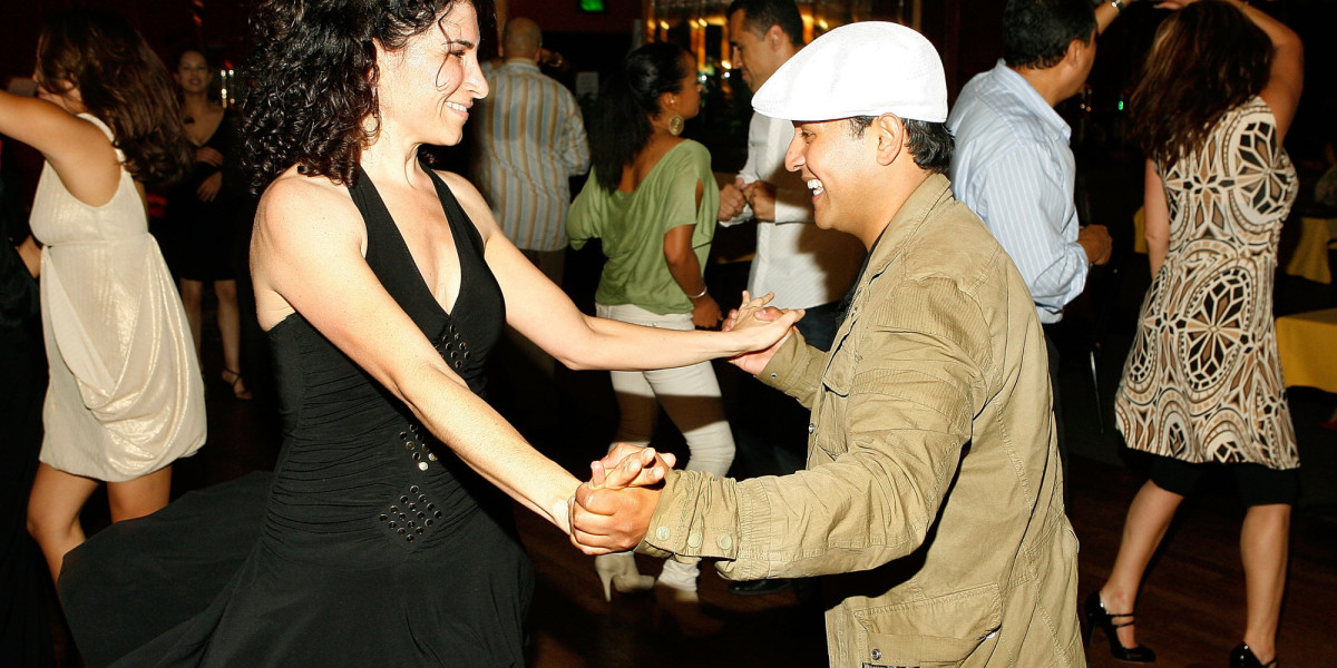 Newspaper boy hats are a popular style for men in salsa clubs