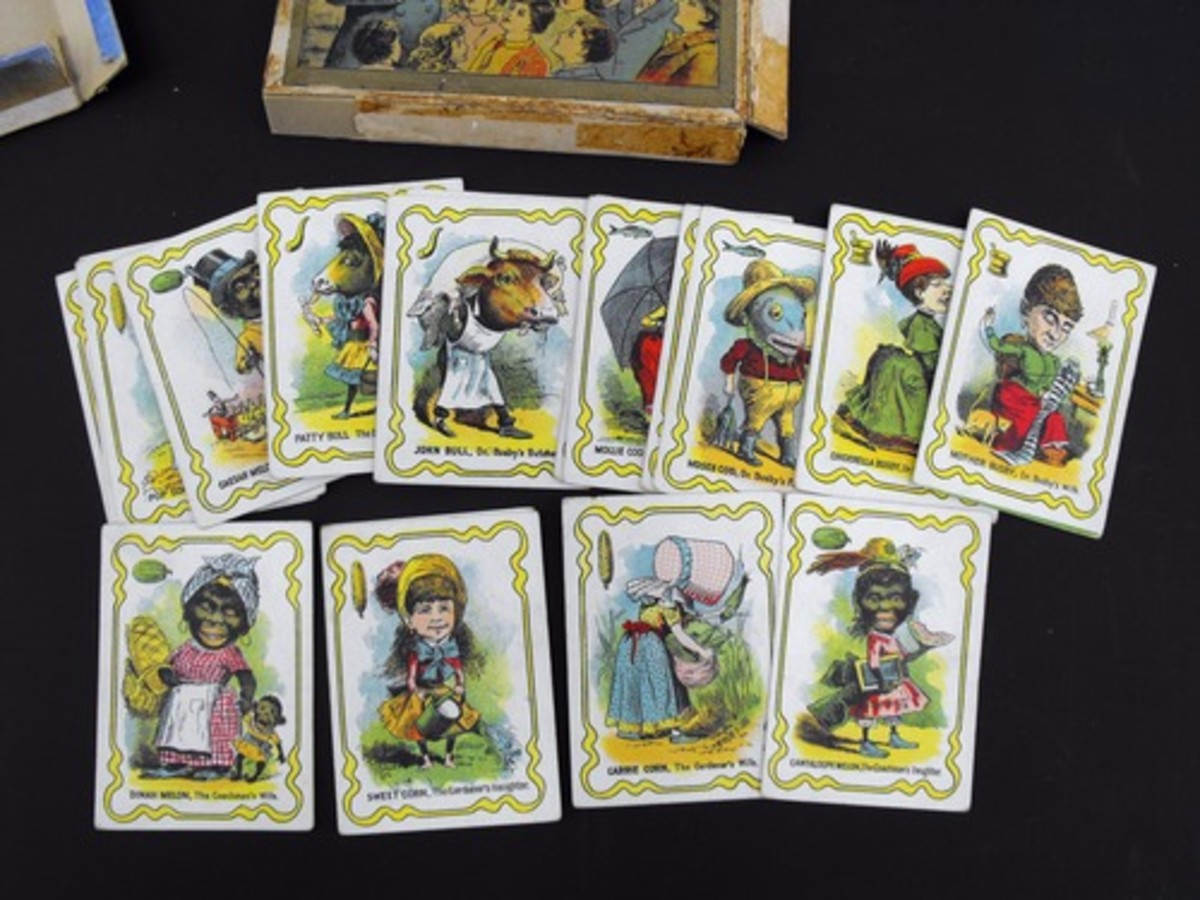 Cards From the 1905 Version