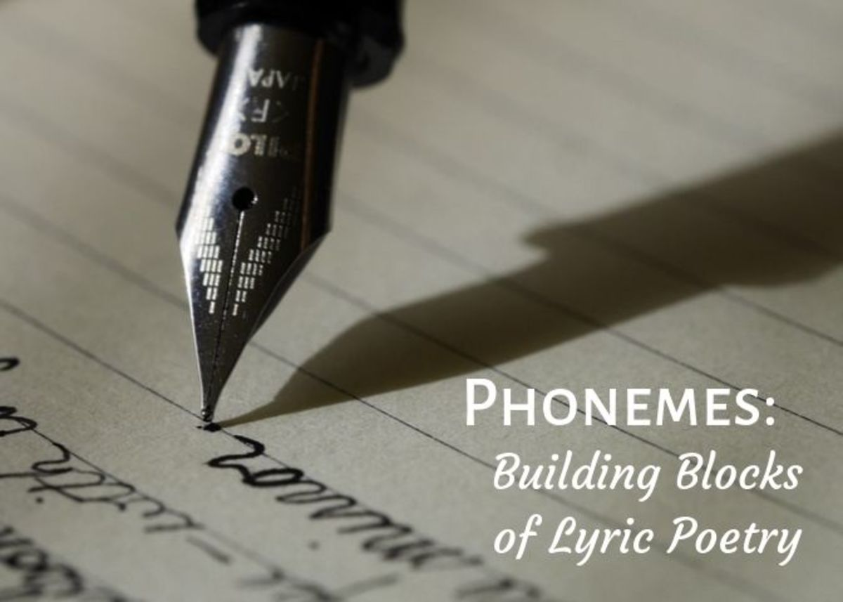 Phonemes are distinct units of sound that distinguish one word from another. This article will teach you to to utilize phonemes in your poetry to help you build a stronger piece.