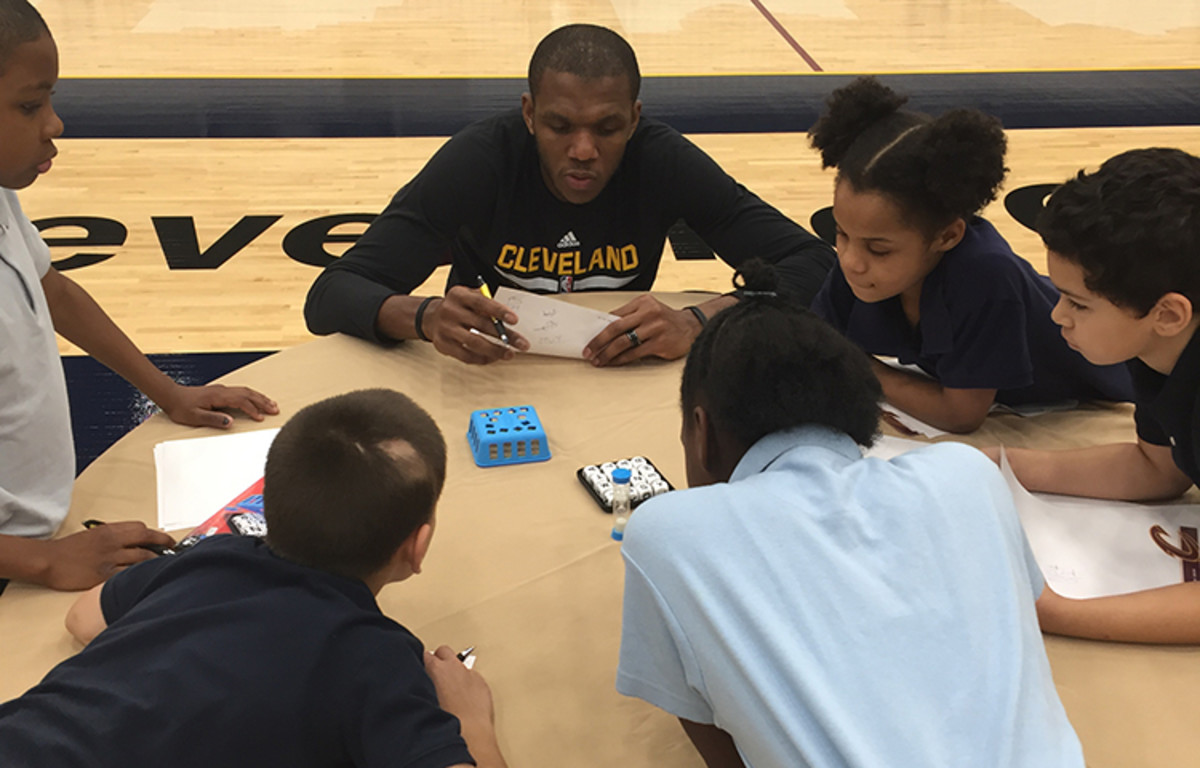 Players concentrating hard on finding words.