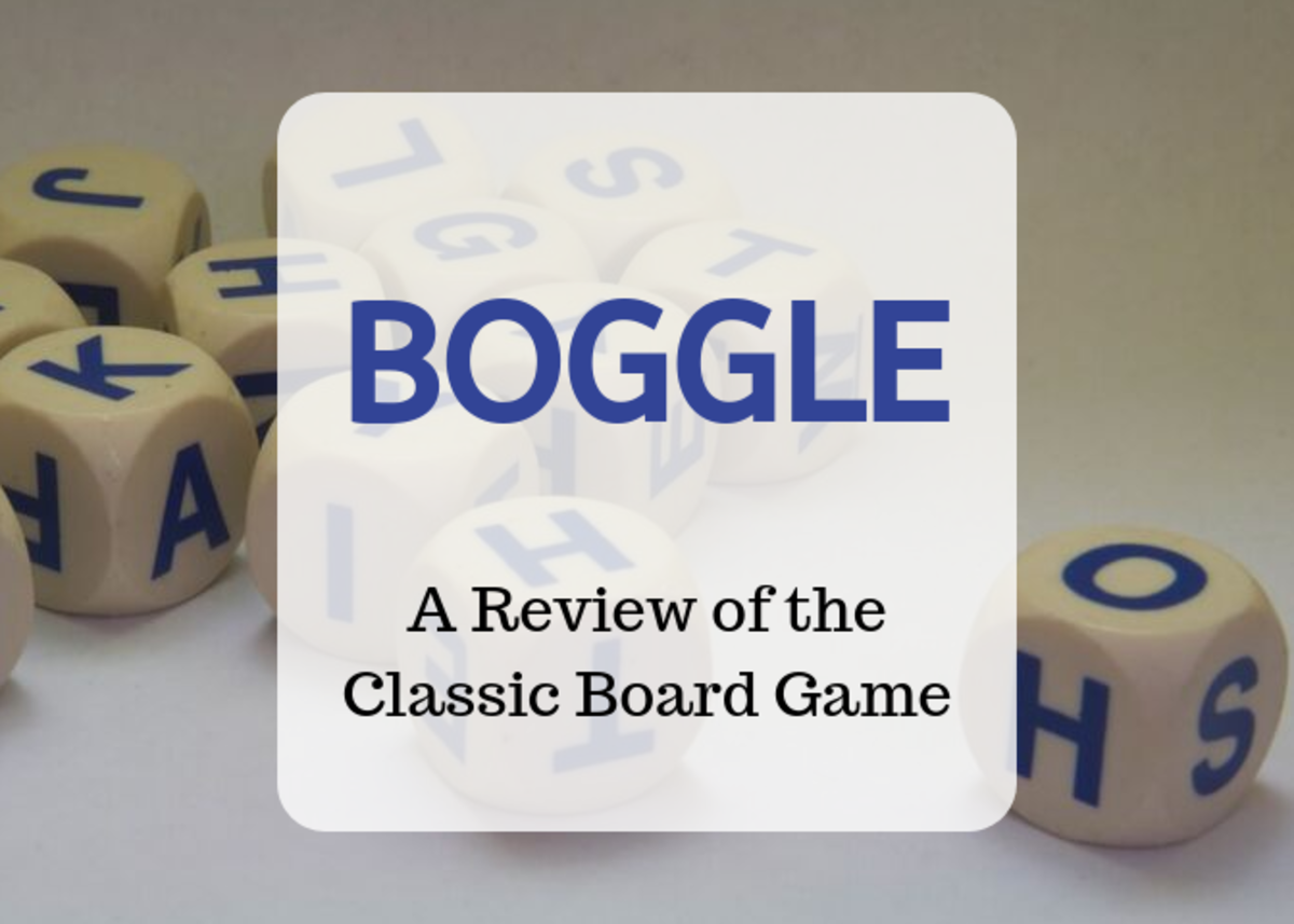 Review of the Classic Family Board Game Boggle