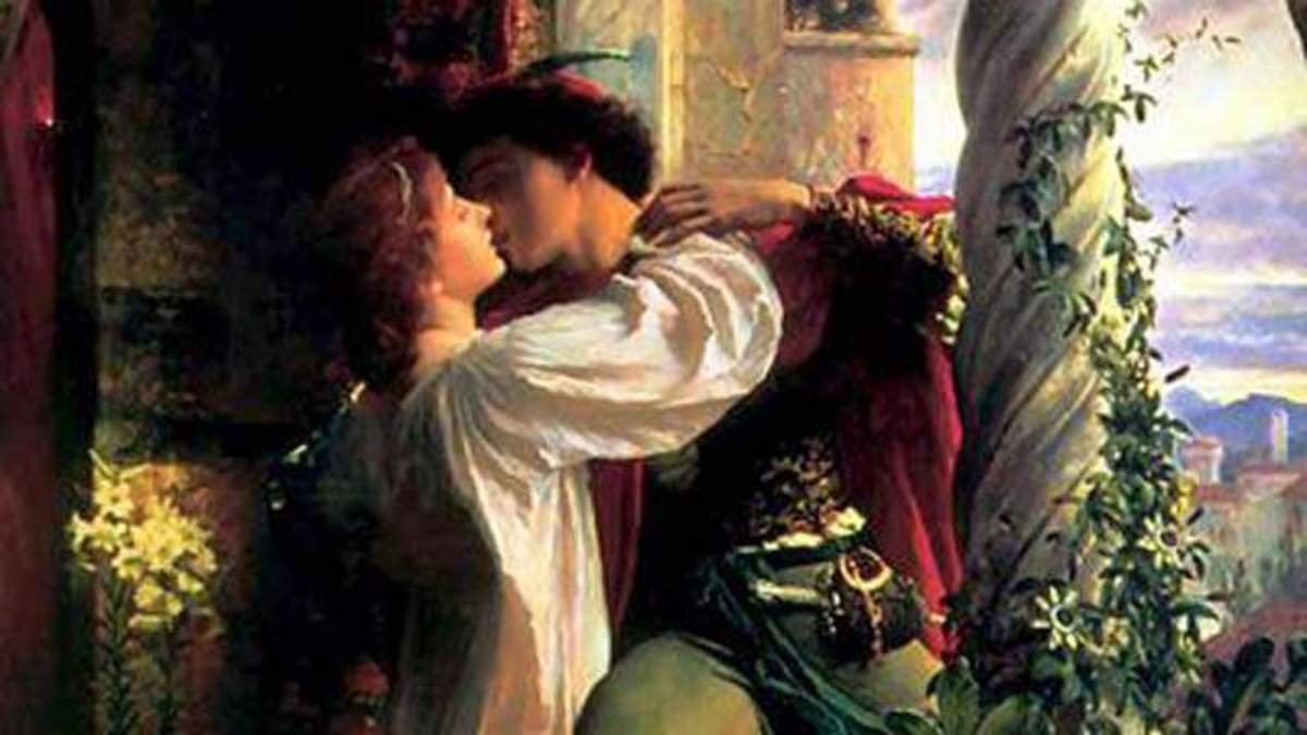 Painting, Romeo and Juliet, by Frank Dicksee