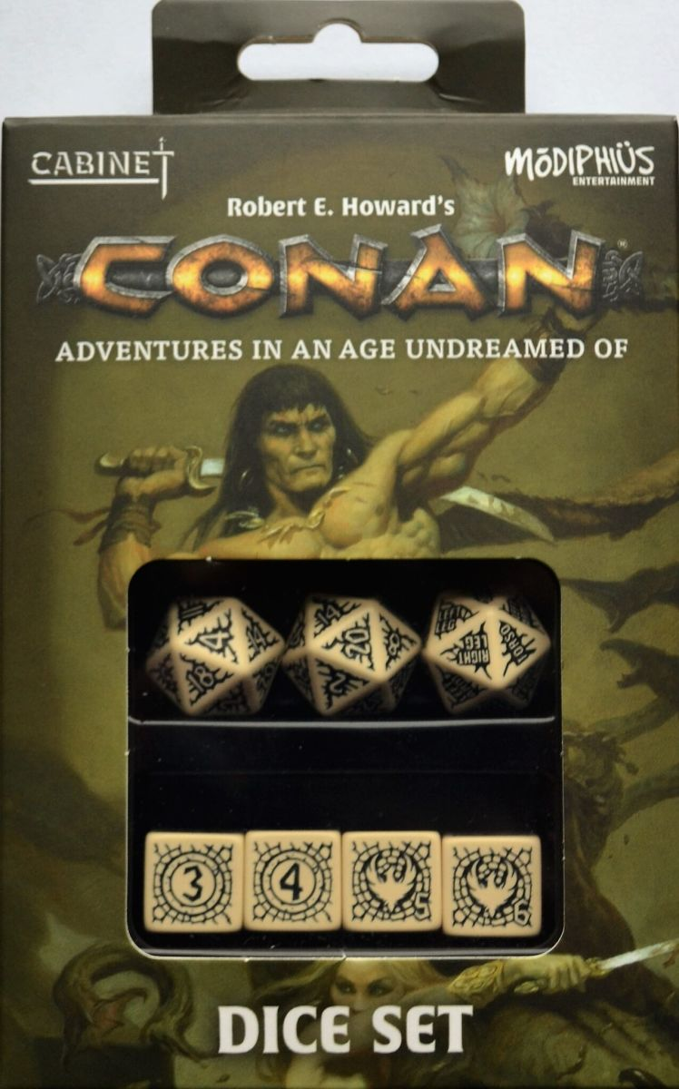 Conan Adventures in an Age Undreamed Of dice set