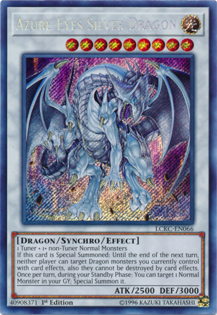 Azure-Eyes Silver Dragon
