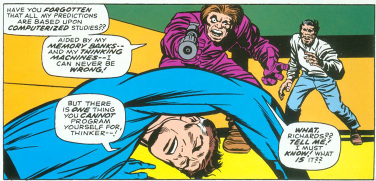 The Mad Thinker with Reed Richards