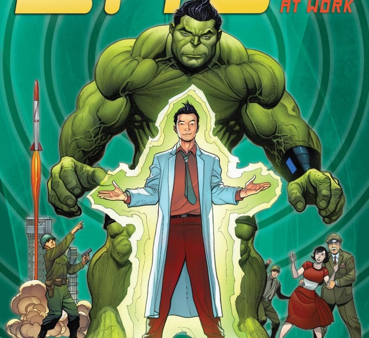 Amadeus Cho in Hulk transformation