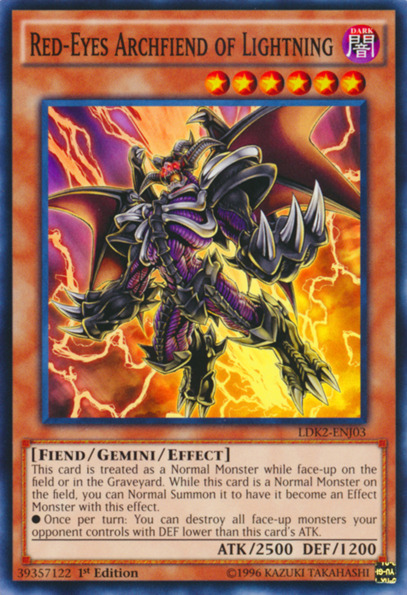 Red-Eyes Archfiend of Lightning