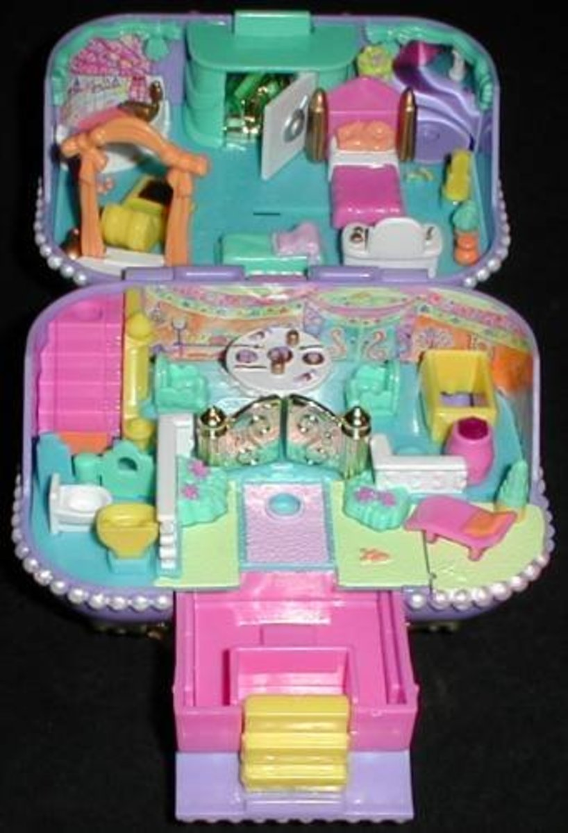 To the right collector, a Polly Pocket Jewel Case still sealed in the package could be worth as much as $600.