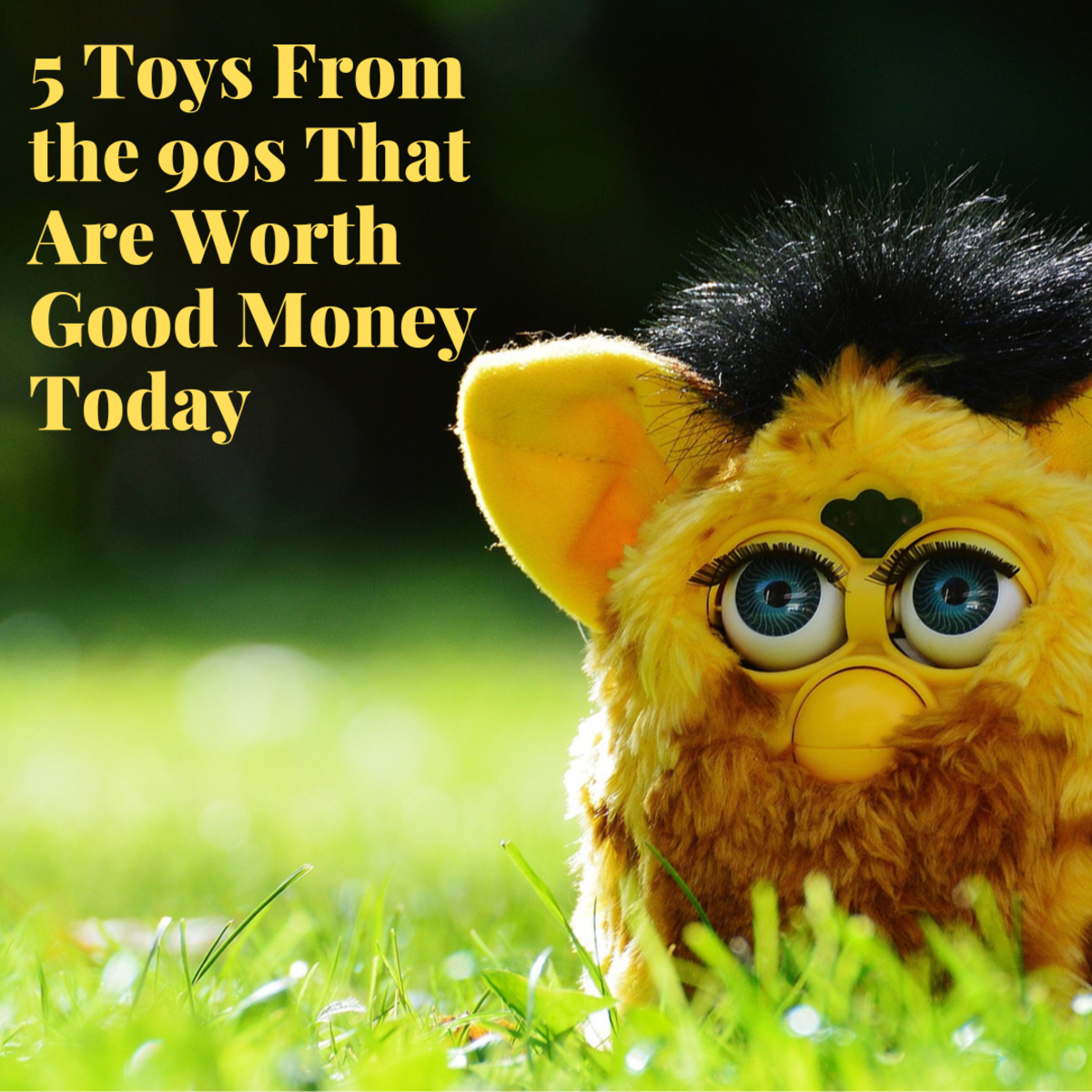 5 Popular Toys From the 90s That Are Worth Money Today
