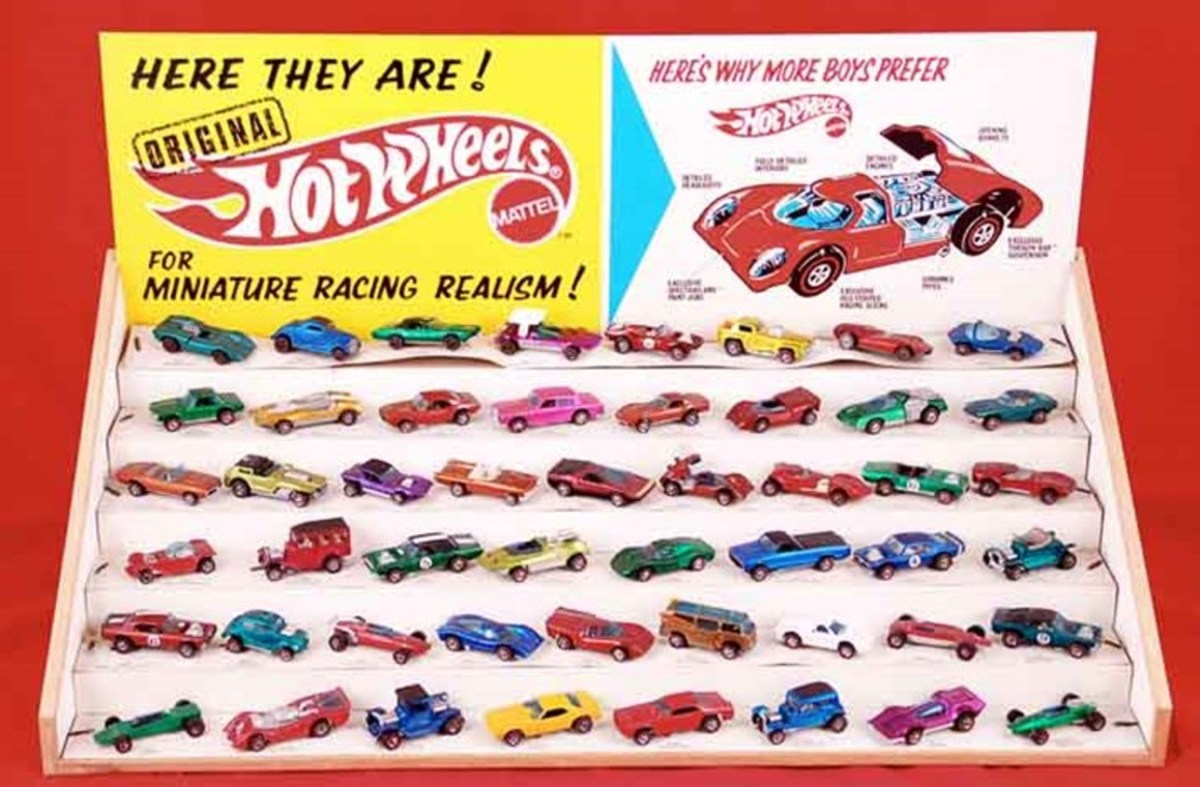 Certain rare editions of Hot Wheels cars can sometimes sell for thousands of dollars each.