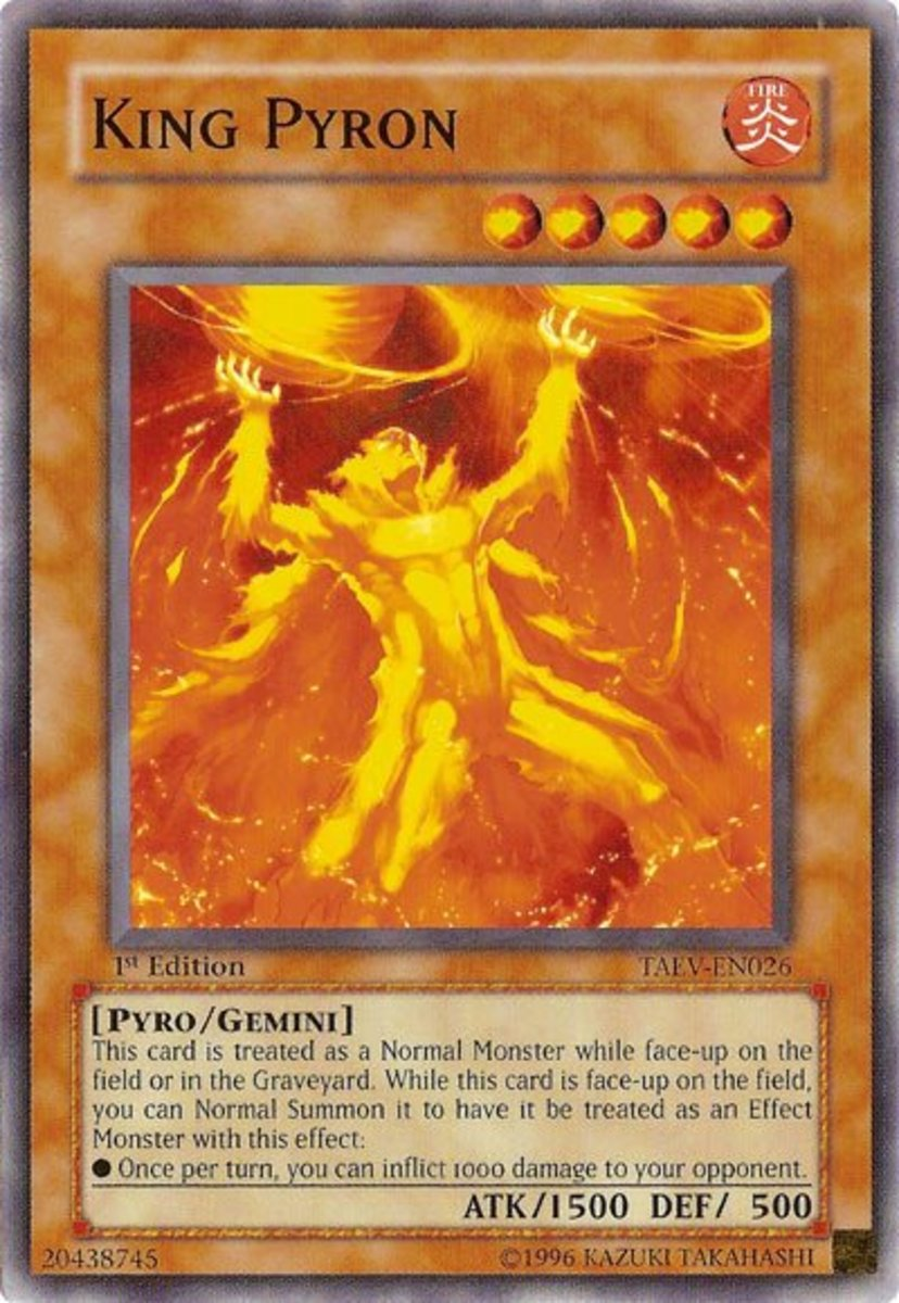Top 10 Effect Damage Monsters in Yu-Gi-Oh