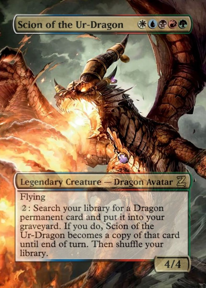 Scion of the Ur-Dragon Alternate Artwork