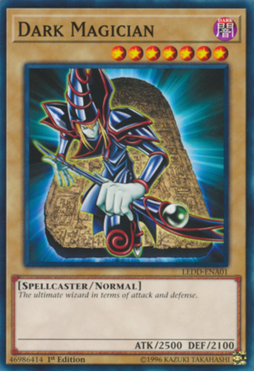 If the blue haired magician is Yugi's, and the white haired one with red armor is Arkana's, then who owns the yellow and bleach blonde ones?