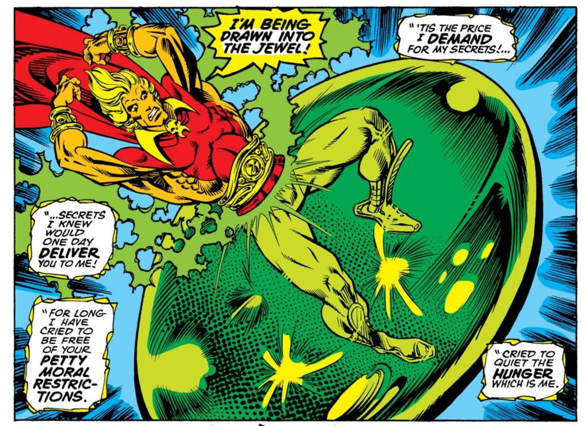 Warlock and the Soul Gem by Jim Starlin