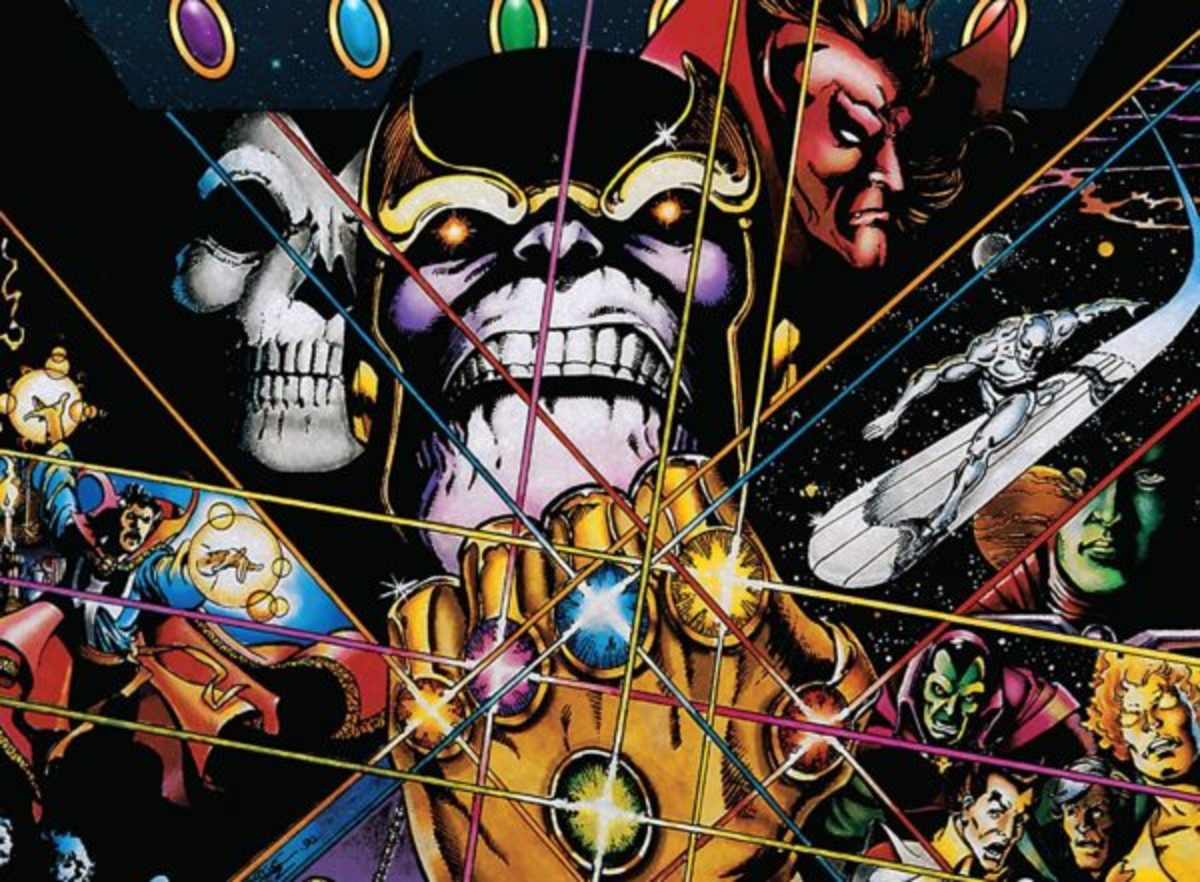 Superhero Academy 101: Artifacts (The Infinity Gauntlet)