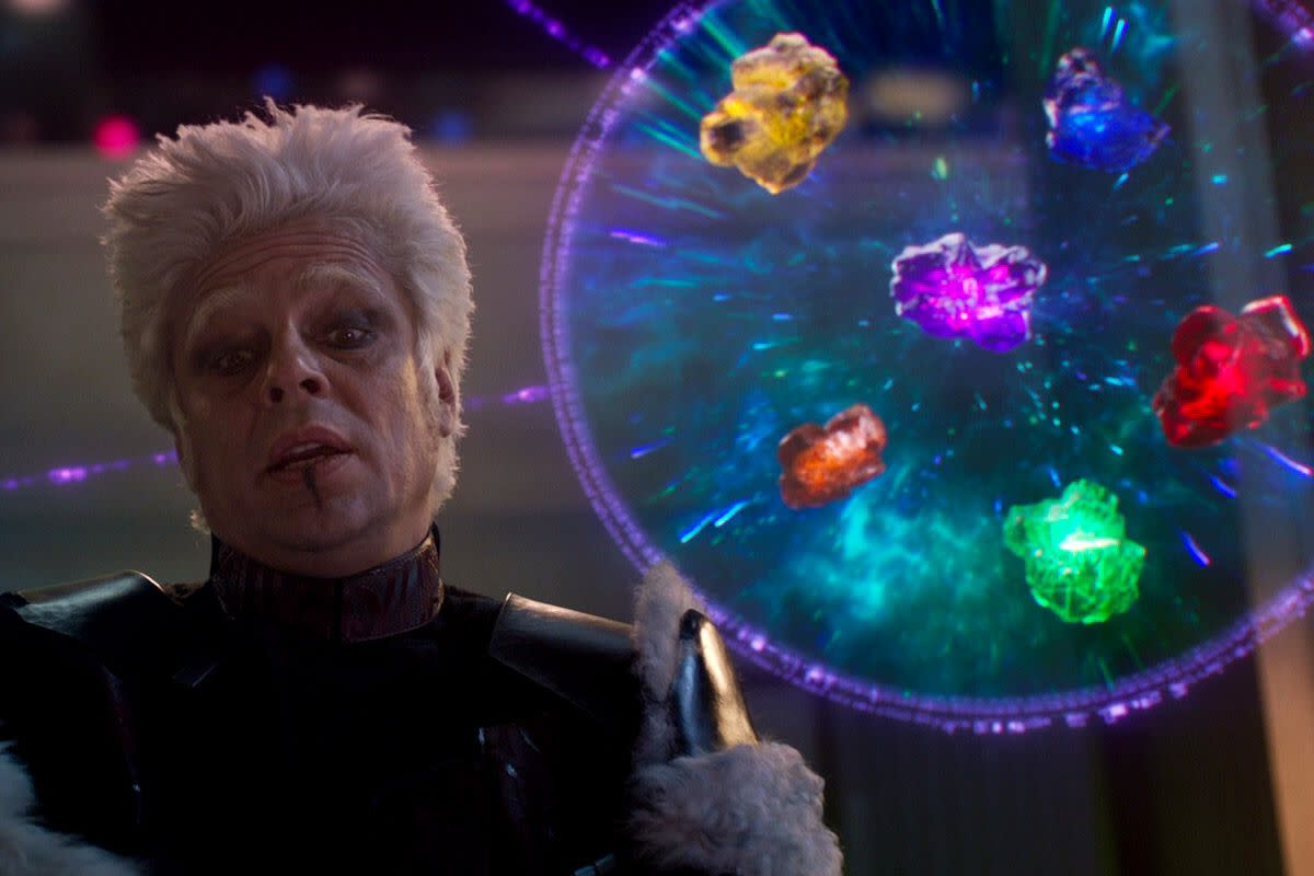 The Collector with the Infinity Stones