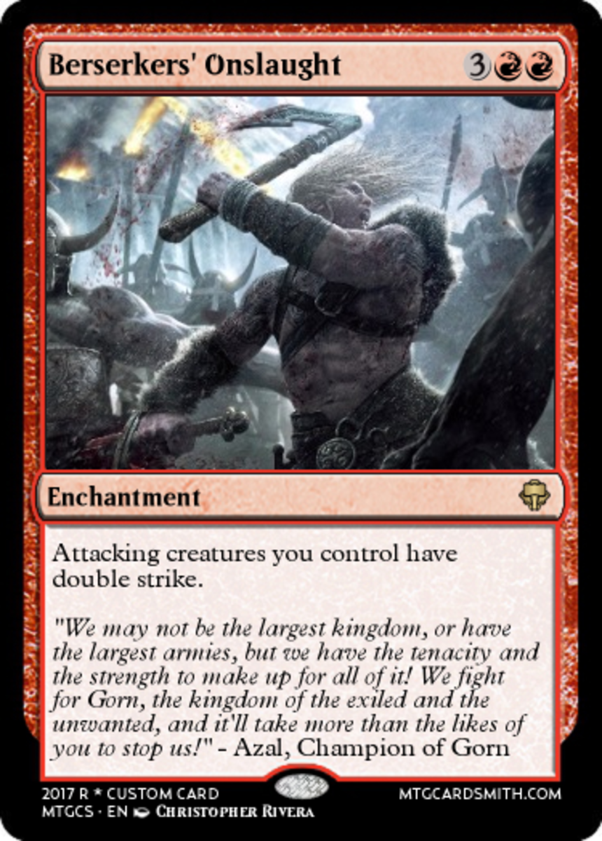Top 10 Red Enchantments in Magic: The Gathering