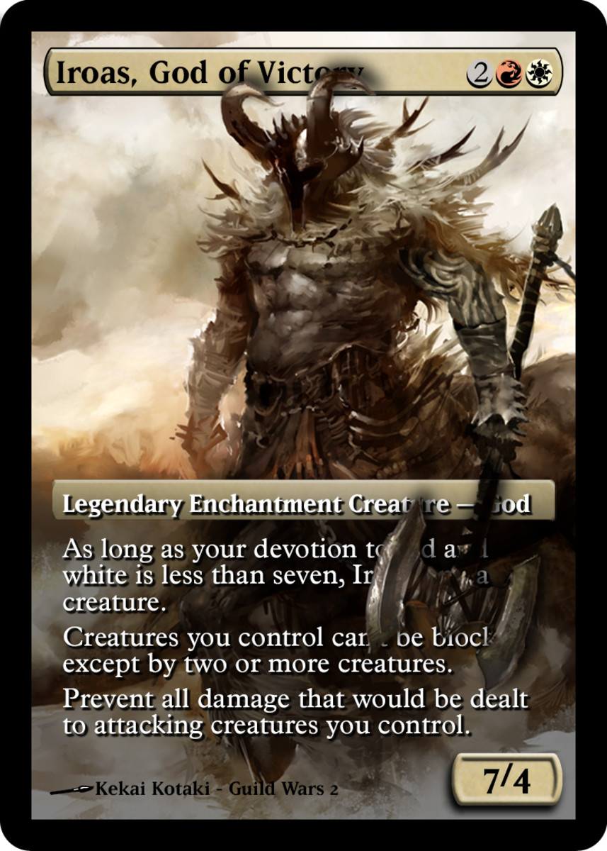 Iroas, God of Victory alternate artwork
