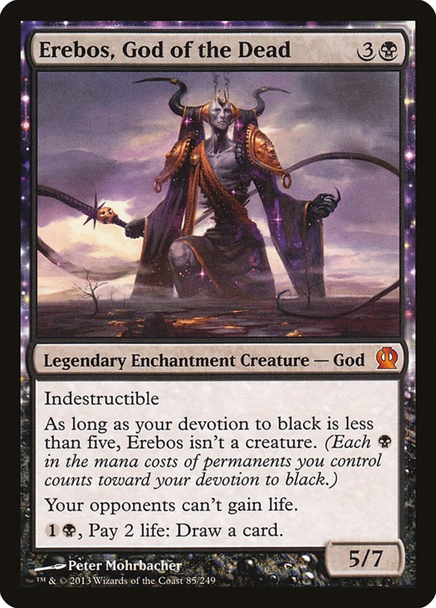 Erebos, God of the Dead mtg