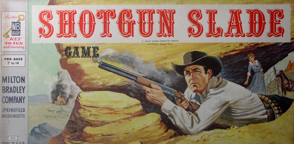 The box cover for Shotgun Slade.