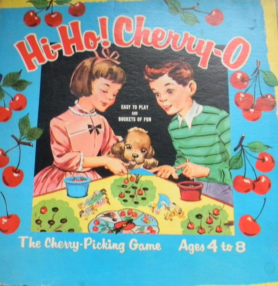 The Hi-Ho! Cherry-O box.