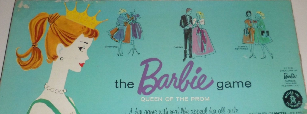 The box for Barbie Queen of the Prom.
