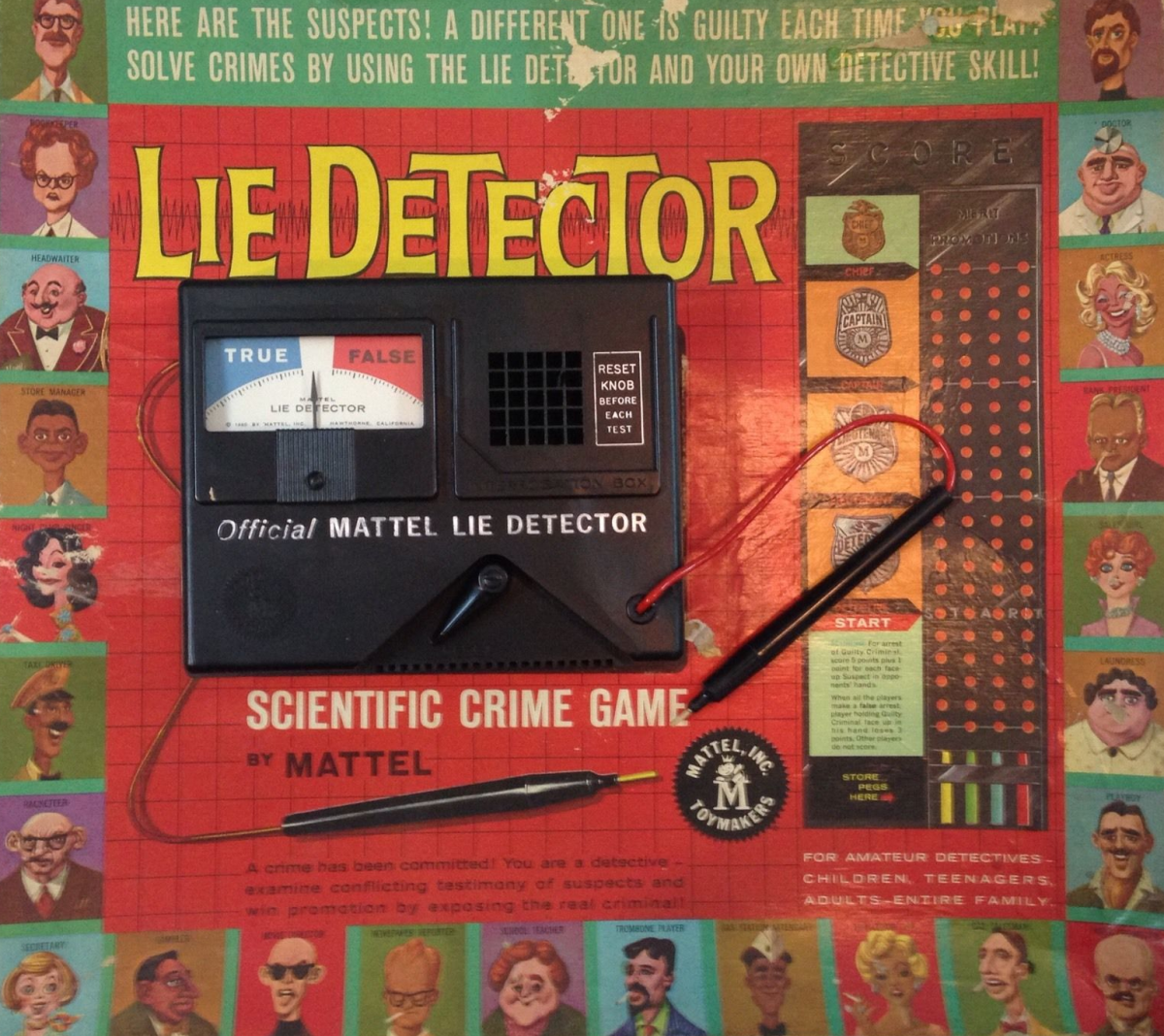 Cover art for the Lie Detector Game.