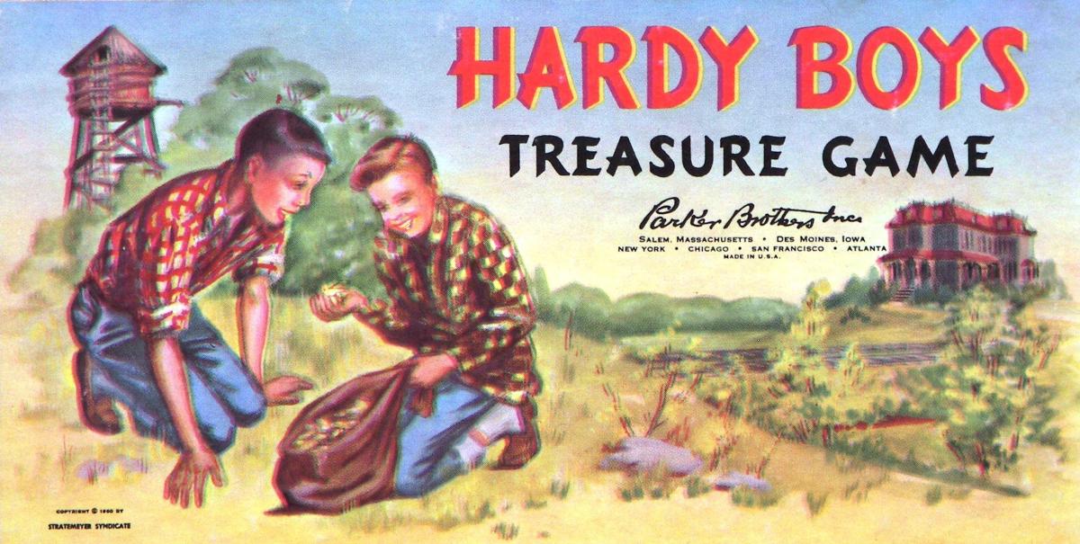 The Hardy Boys Treasure Game box.