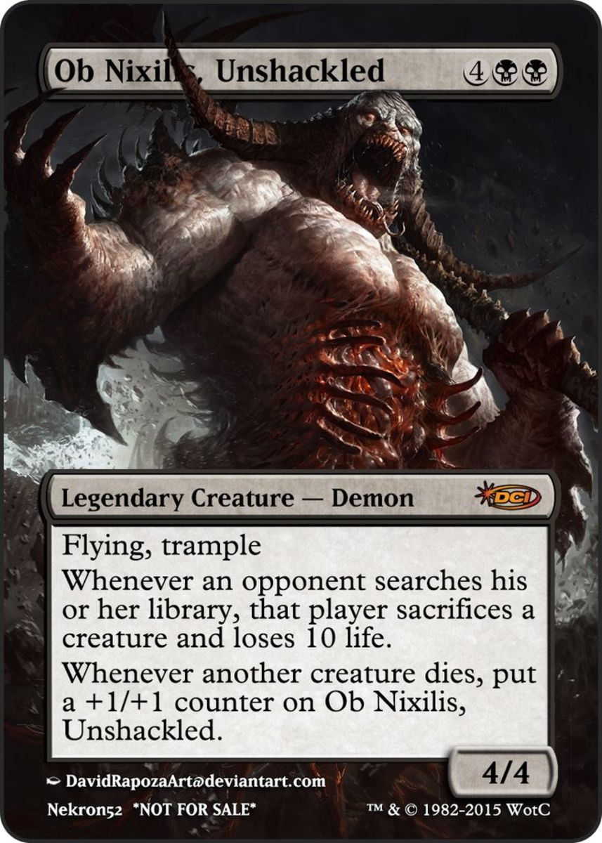 Top 10 Demons in Magic: The Gathering (MTG)