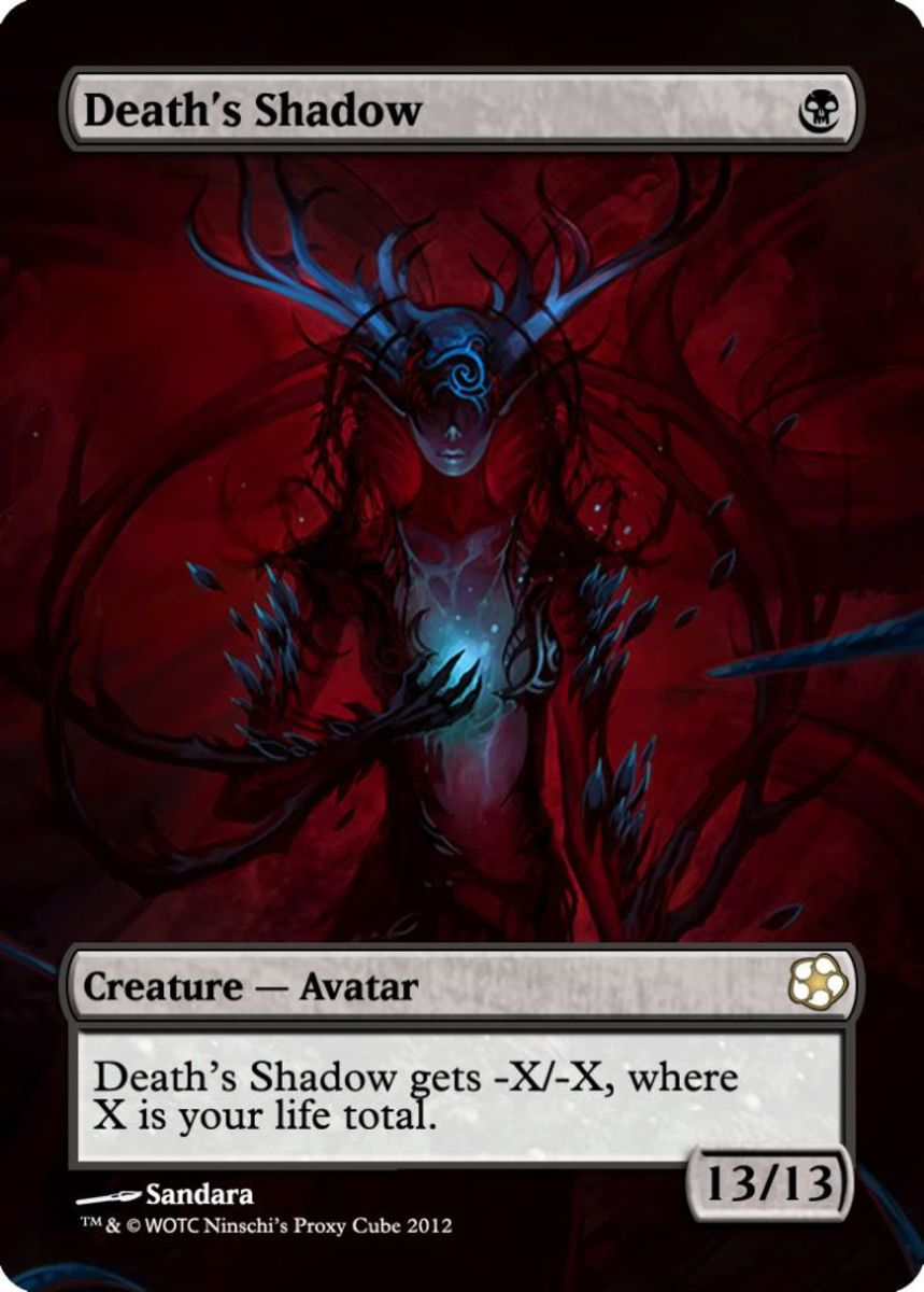 Death's Shadow alternate art