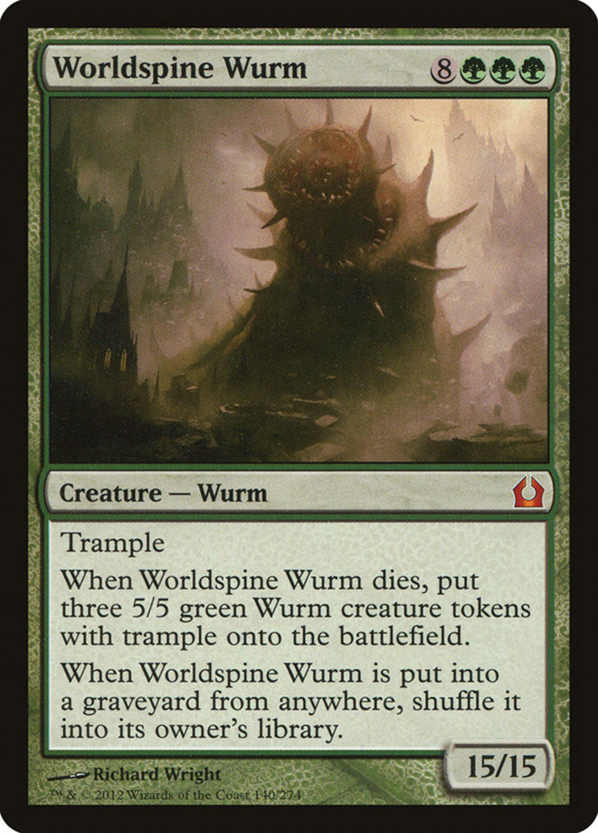 Worldspine Wurm mtg