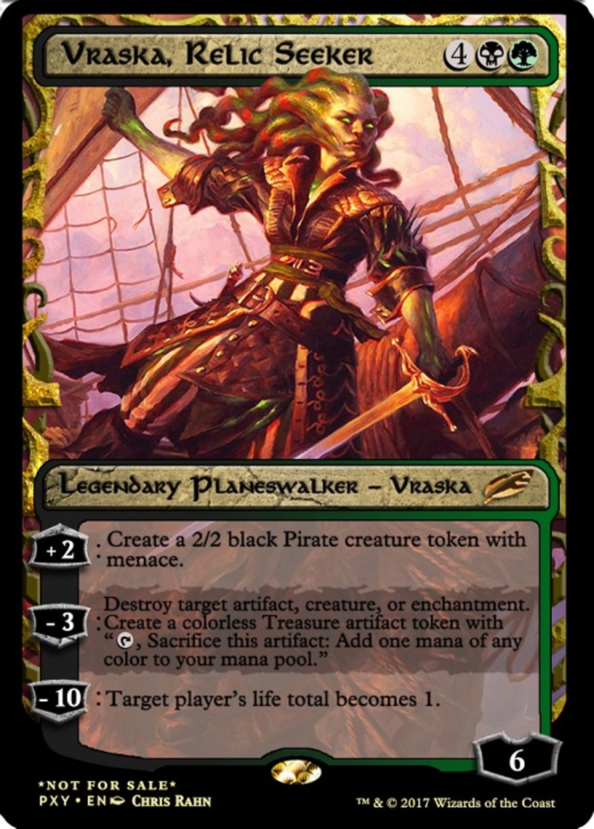 10 More of the Best Planeswalkers in Magic: The Gathering