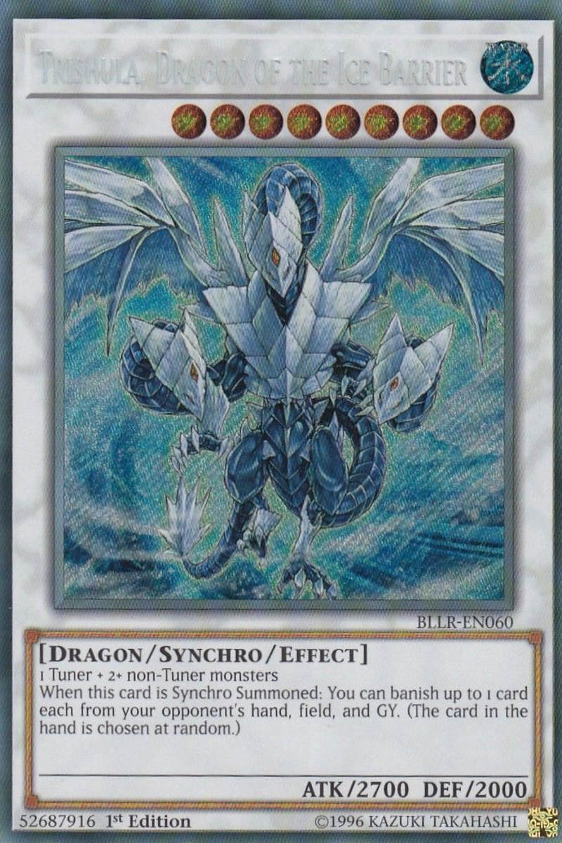 Trishula, Dragon of the Ice Barrier