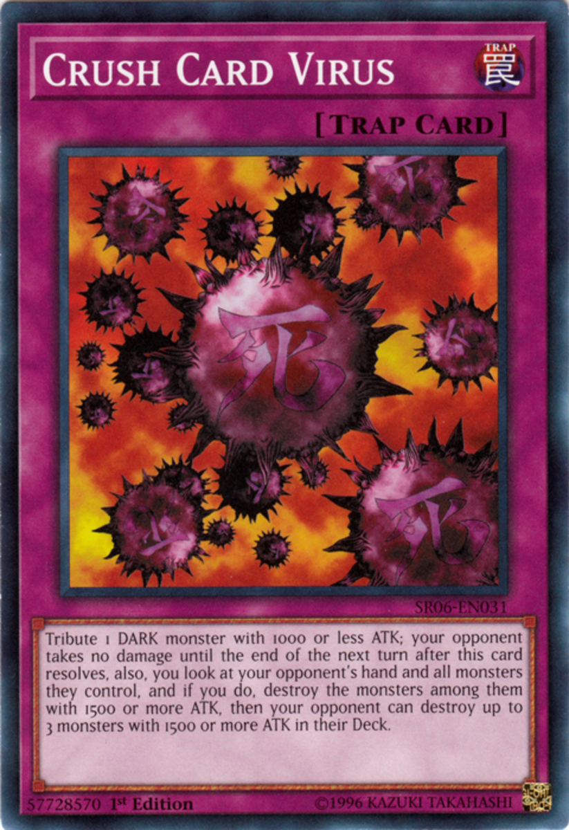 Crush Card Virus