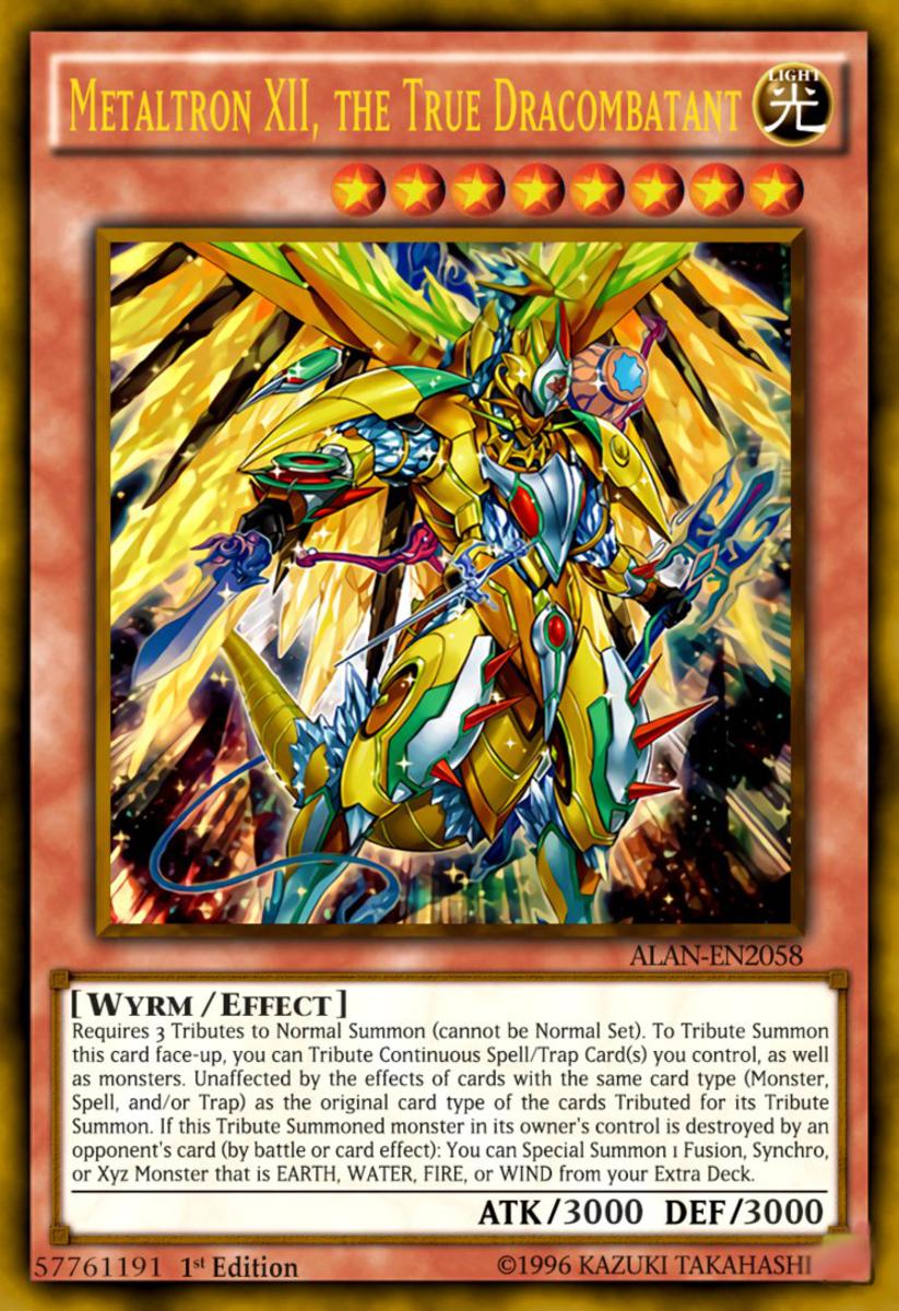 Metaltron XII, the True Dracombatant