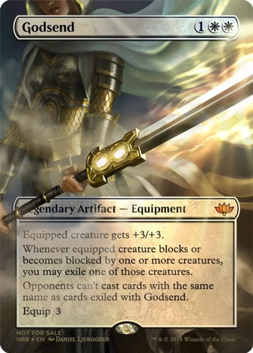 Top 10 Artifact Equipment Cards in Magic: The Gathering