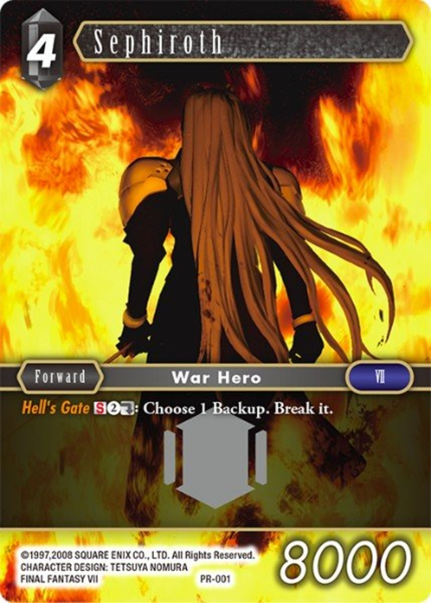 Top 10 Ff7 Cards In The Final Fantasy Opus Trading Card Game