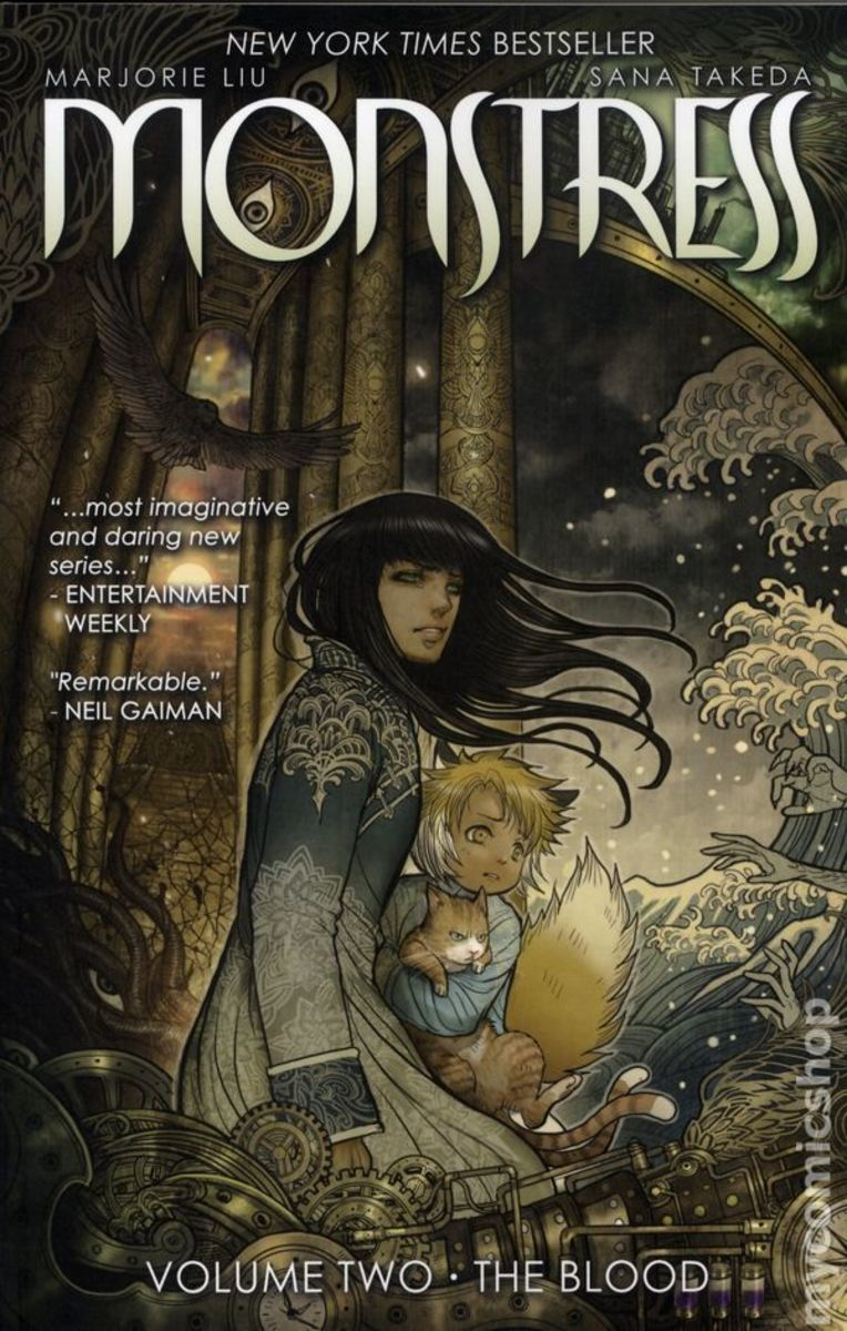 Cover art of Monstress, Volume Two by Sana Takeda
