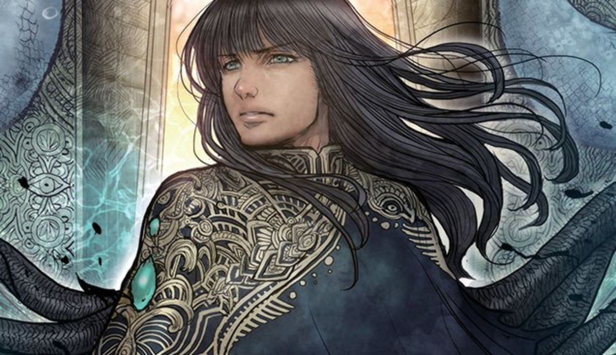Sample art featuring Maika Halfwolf by Sana Takeda.