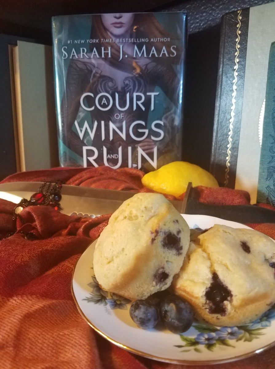"""Night Court"" Blueberry Lemon Muffins"