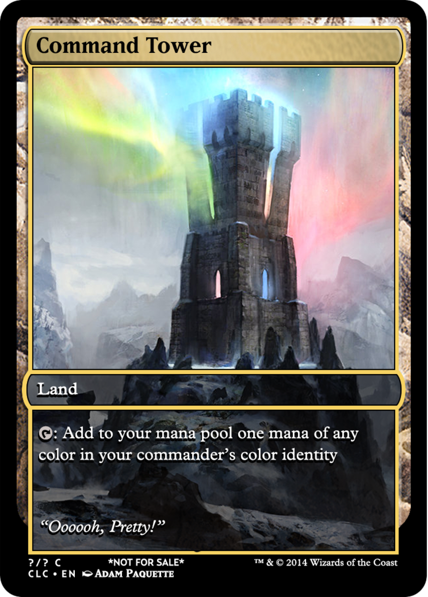 Command Tower alternate art