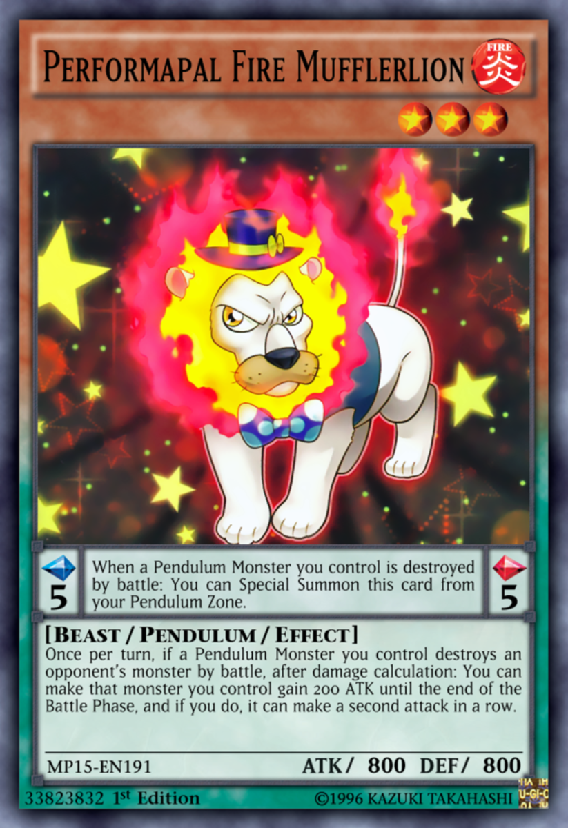 Performapal Fire Mufflerlion