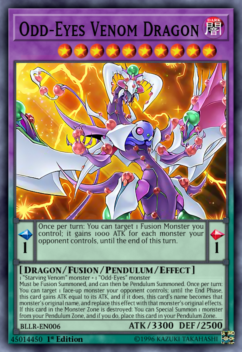 Odd-Eyes Venom Dragon
