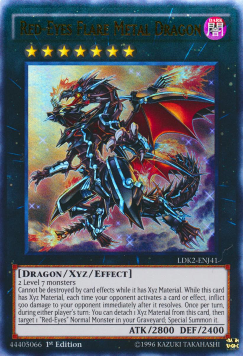 Red-Eyes Flare Metal Dragon