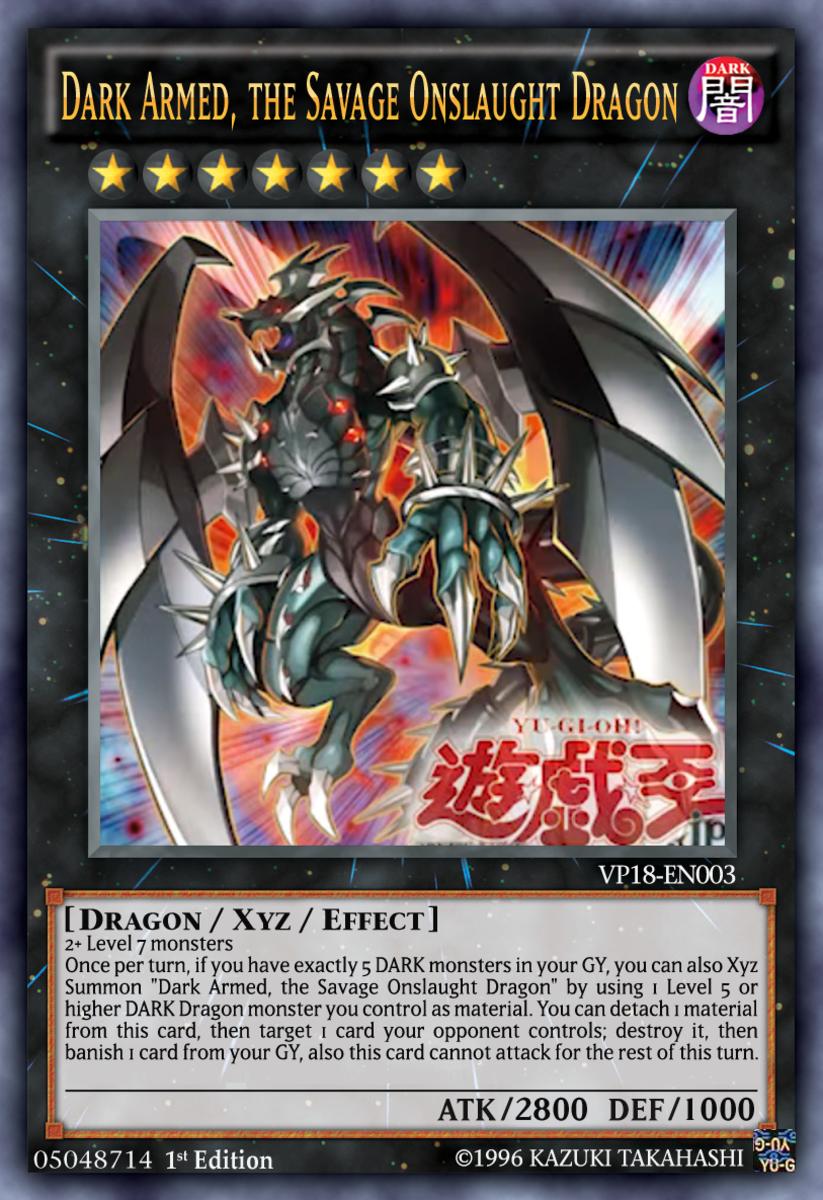 Dark Armed, the Savage Onslaught Dragon