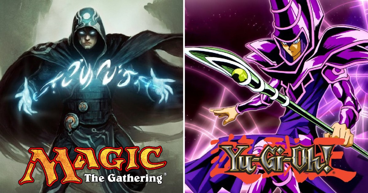 MTG's Jace and YGO's Dark Magician